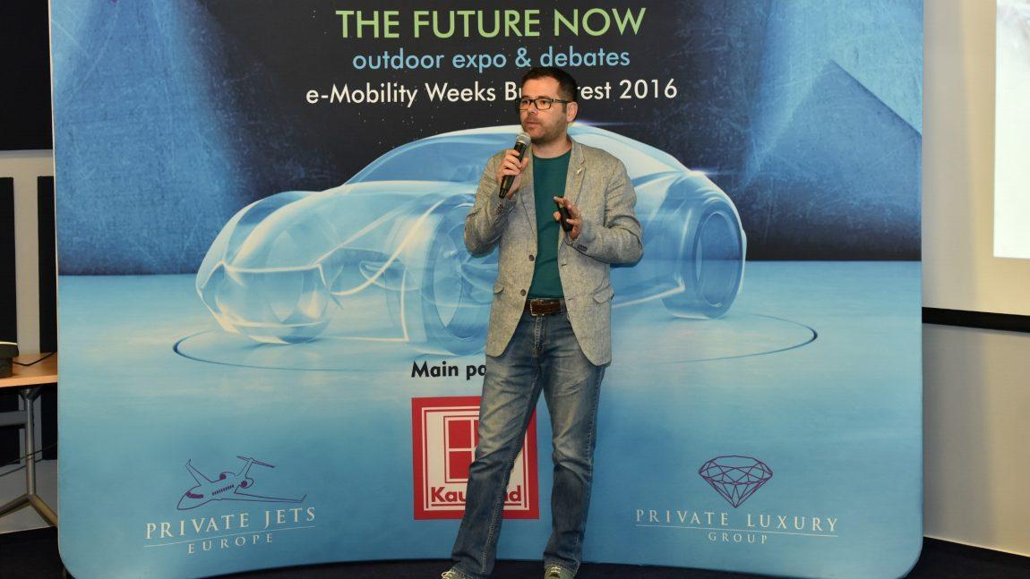 """Mândru să fiu avocatul mașinilor electrice, la """"e-Mobility Week"""""""