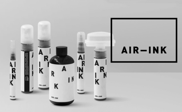 Air-Ink: World's first ink made from air pollution